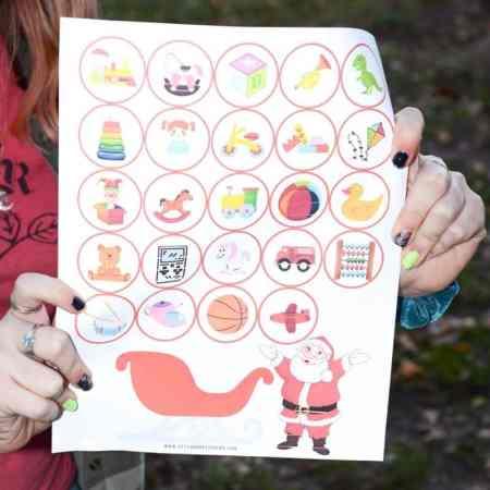 free advent calendar for kids!