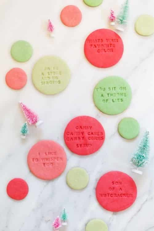 elf cookie quotes for the buddy movie party.