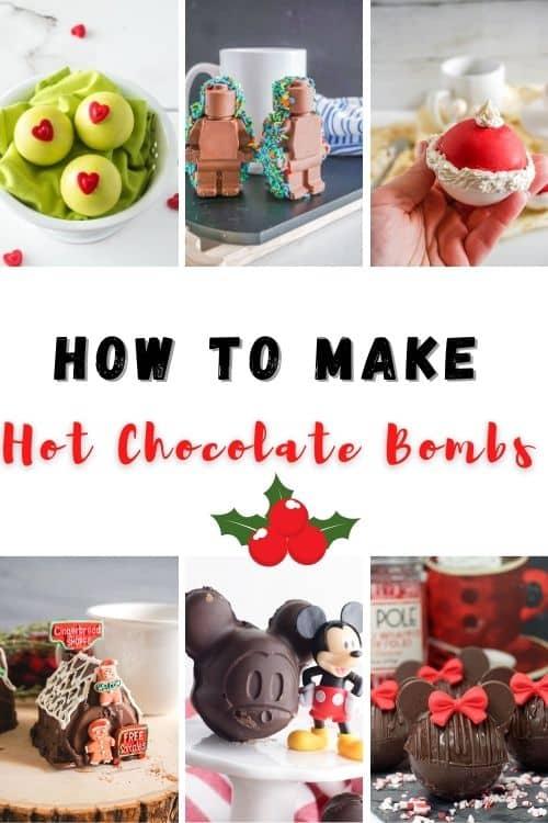 how to make hot chocolate bombs!
