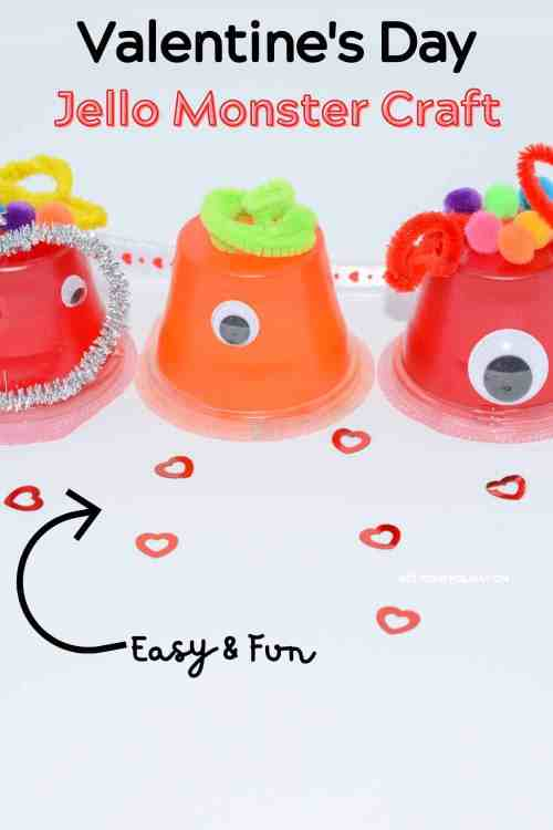 Simply follow this tutorial for these Valentine's Day Craft Monsters ideas for kids.