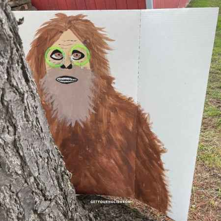 Learn how to play the finding Bigfoot Game for kids or adults.
