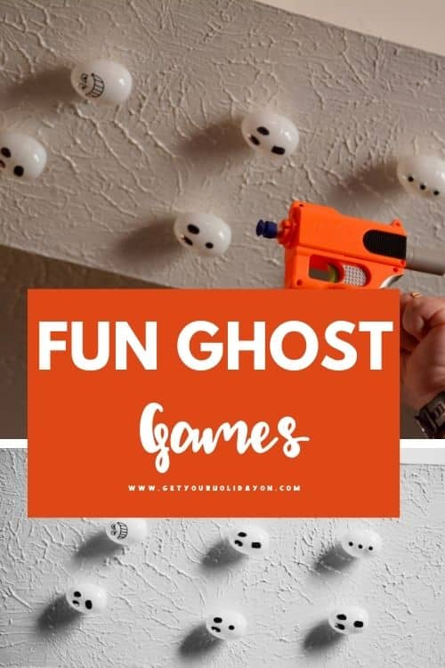 Fun ghost games for kids to do during halloween this fall.