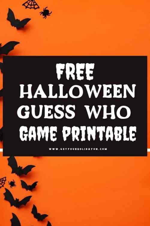 free halloween guess who game printable.