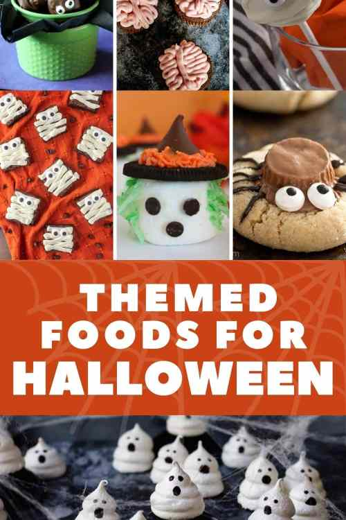 Themed foods for Halloween
