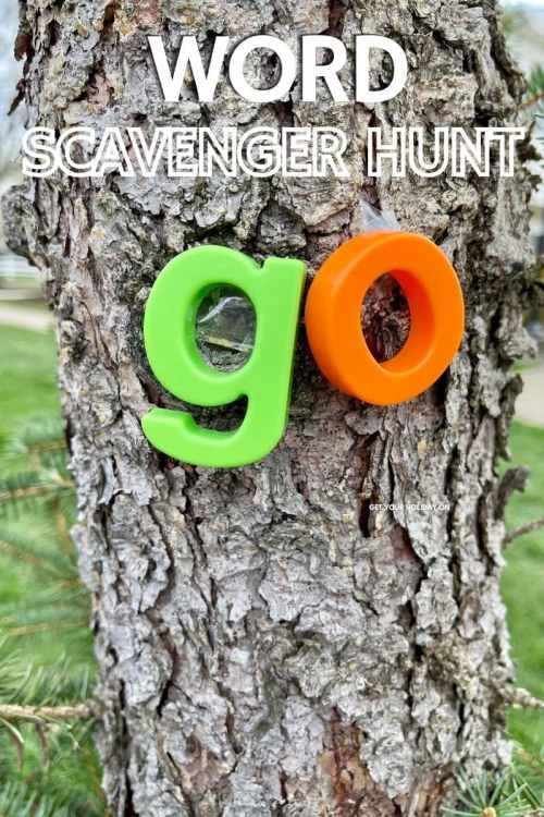 This Word Scavenger Hunt at Home is a kid's favorite idea. It's even better than the game... go fish!