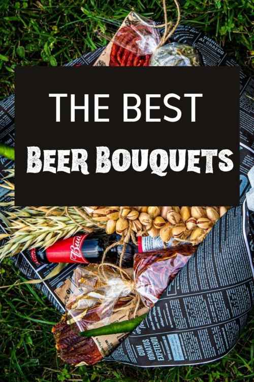 how to make a beer bouquet for him diy!