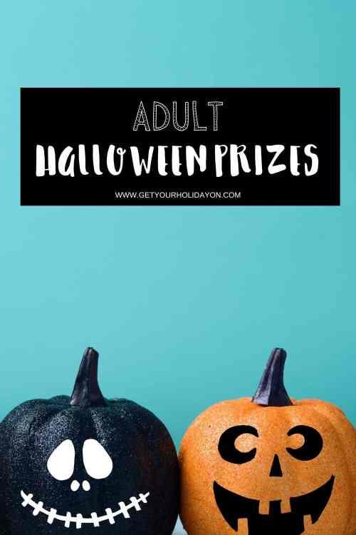 Adult Halloween prizes