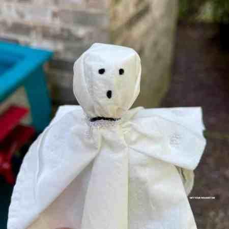 ghost lollipop idea for kids