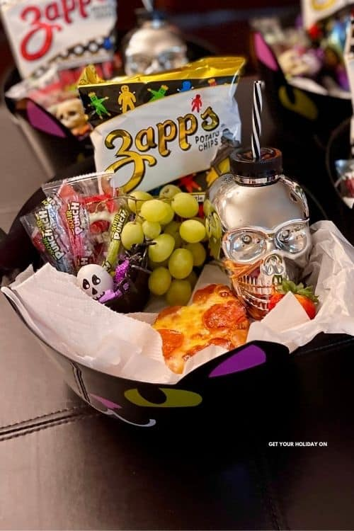 halloween themed lunch ideas from the dollar store