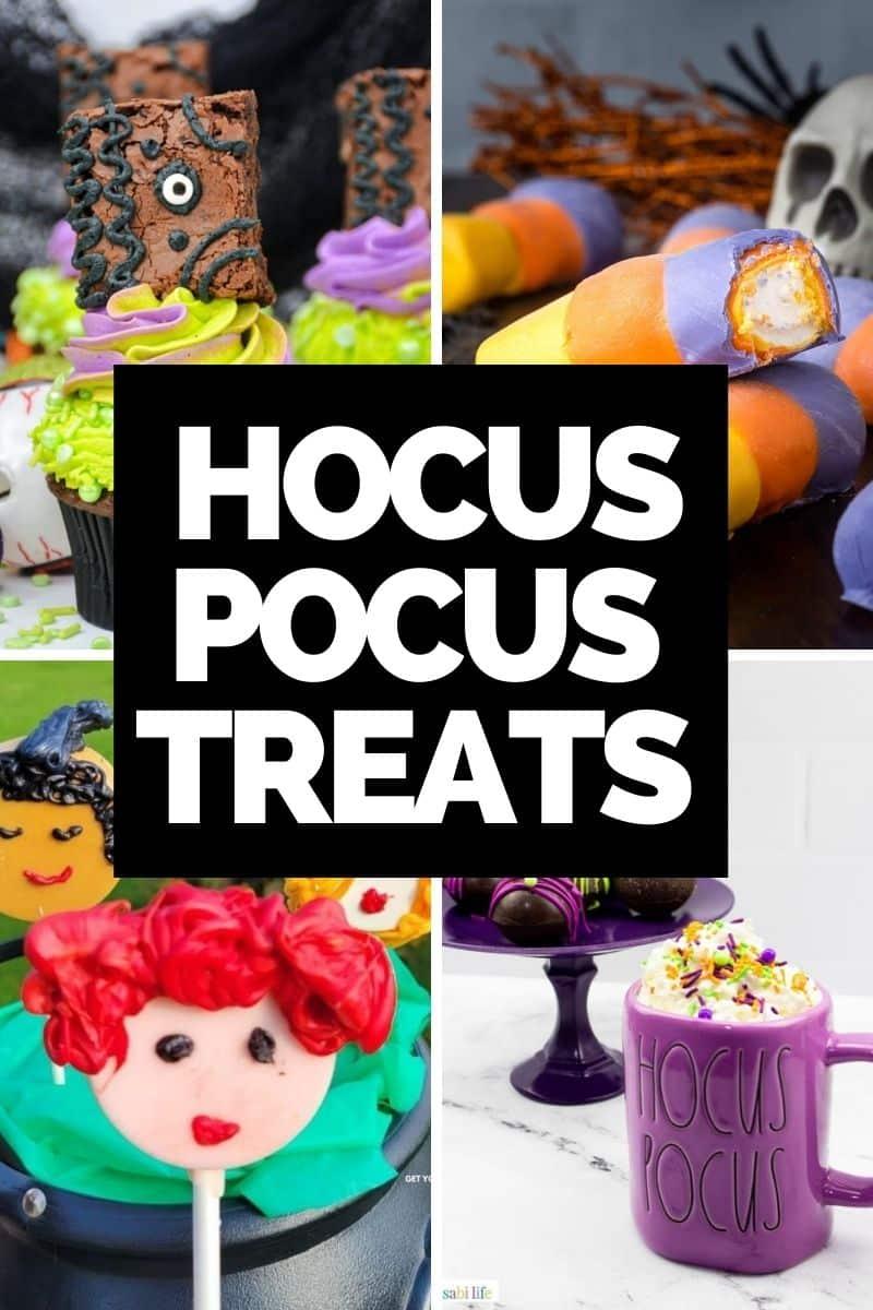Hocus Pocus treats based on the Disney 1993 film and Hocus Pocus 2.