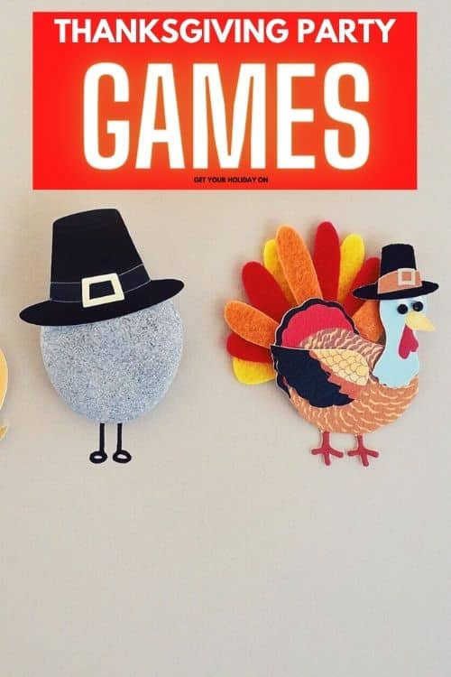 Thanksgiving party games. Start with a game for an icebreaker, finish it off with a card game, minute to win it games for kids or adults, or go virtual.