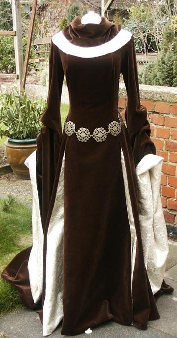 Eowynkleid Eowyn Kleid aus Herr der Ringe