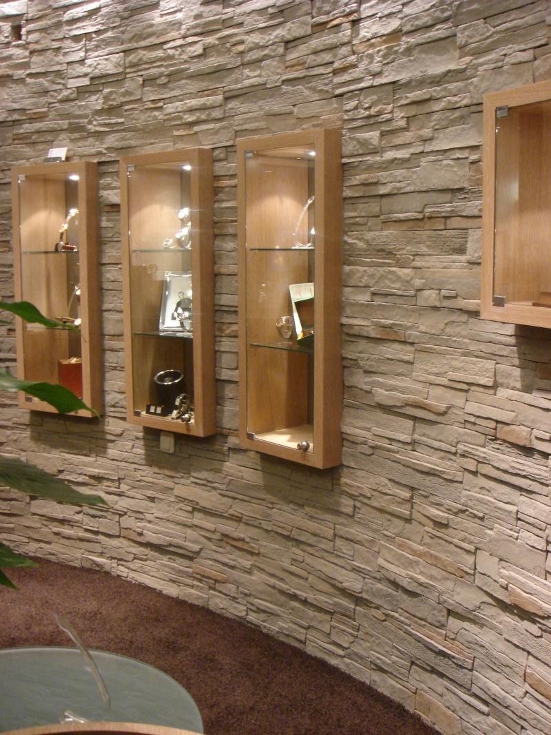moderne Steinwand fr den Selbsteinbau Steine an die Wand