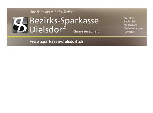 Hauptsponsor Bezirks-Sparkasse Dielsdorf