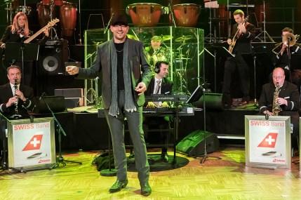 Swiss-Band mit Special Guest Lisa Stoll Gewerbeschau Dielsdorf Freitag Abend..