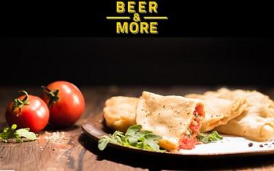 Bier und Panzerotti als kulinarische Attraktion