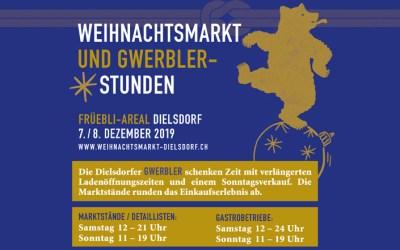 Weihnachtsmarkt Dielsdorf 7./8. Dezember 2019