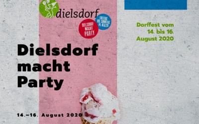 Dielsdorf macht Party: Dorffest vom 14. bis 16. August 2020. Auch der GVD ist mit dabei!