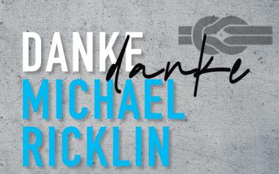 Herzlichen Dank Michael Ricklin