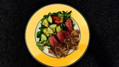 Salade met bavette