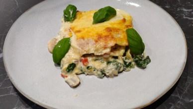 Cheese lasagne