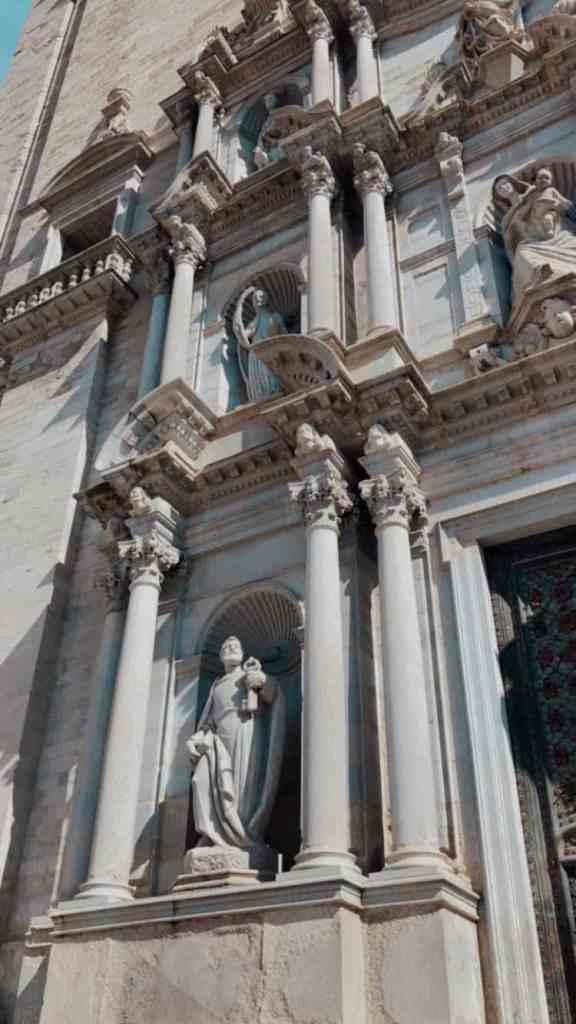 girona katedrali facet