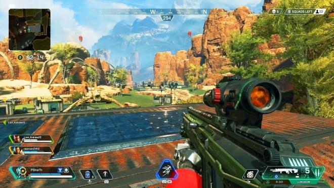 apex legends ekran görüntüsü - gezginler