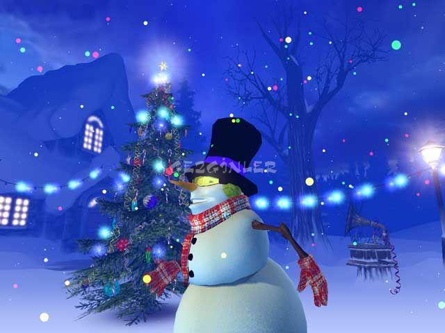 Christmas 3D Screensaver Ekran Grnts Gezginler