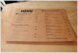 Cafe Sista menü