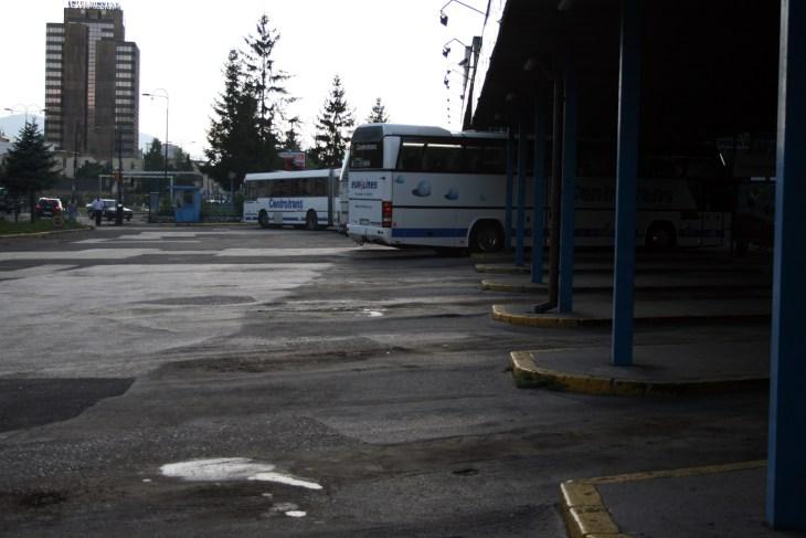 Mostar Gezi Notları - Saraybosna otobüs terminali