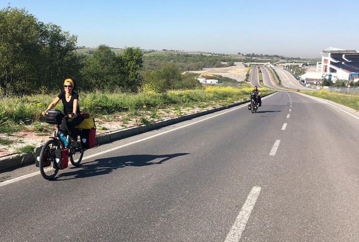 İstanbul'dan kaçış bisiklet rotaları - Formula 1-Göçbeyli