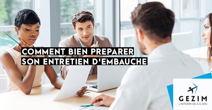Comment bien préparer un entretien d'embauche