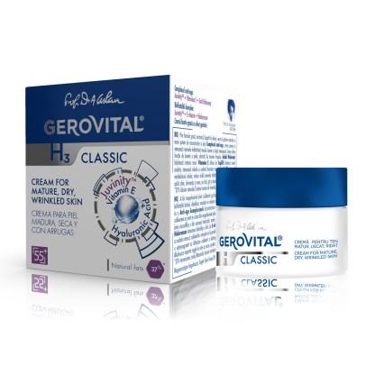 Cream for mature, dry, wrinkled skin