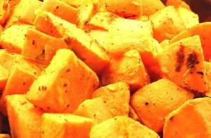 Superfood zoete aardappelen