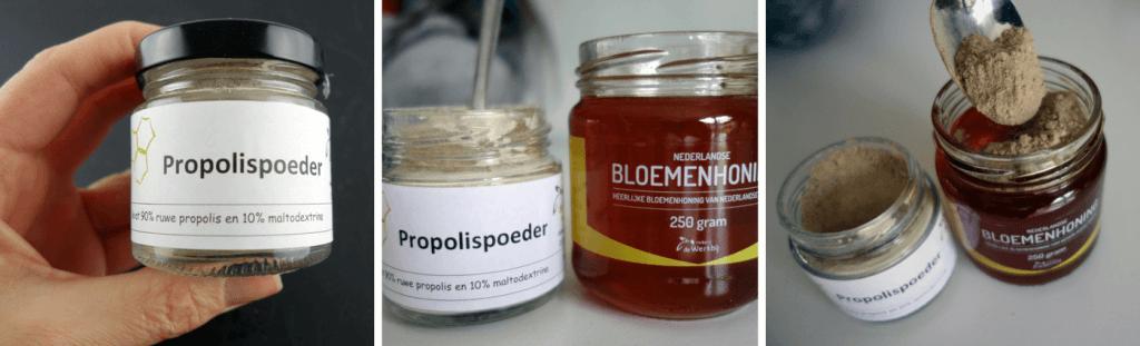 Propolis met honing