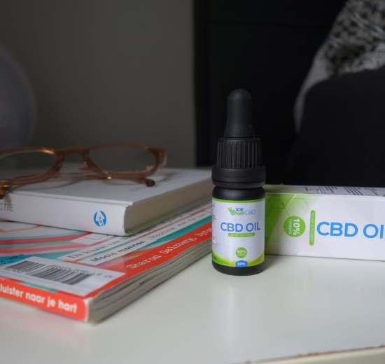 IceBlue CBD olie review