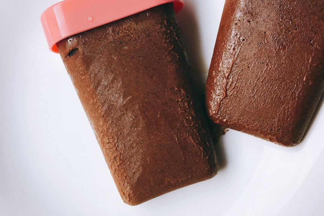 Chocolade groentenijsje
