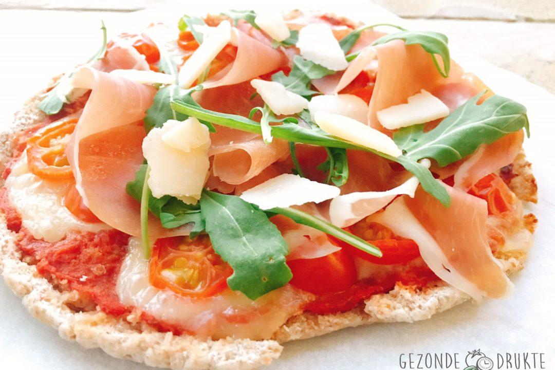 speedy mini-pizza gezonde drukte gezond
