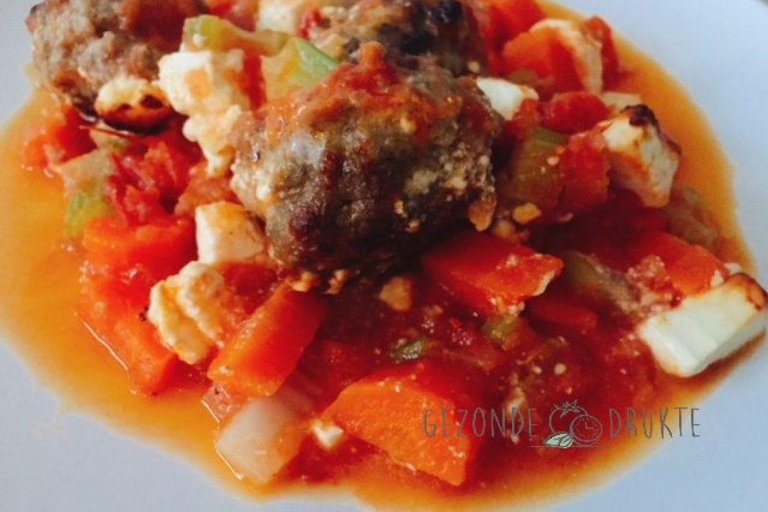 wortel selder ovenschotel gezonde drukte