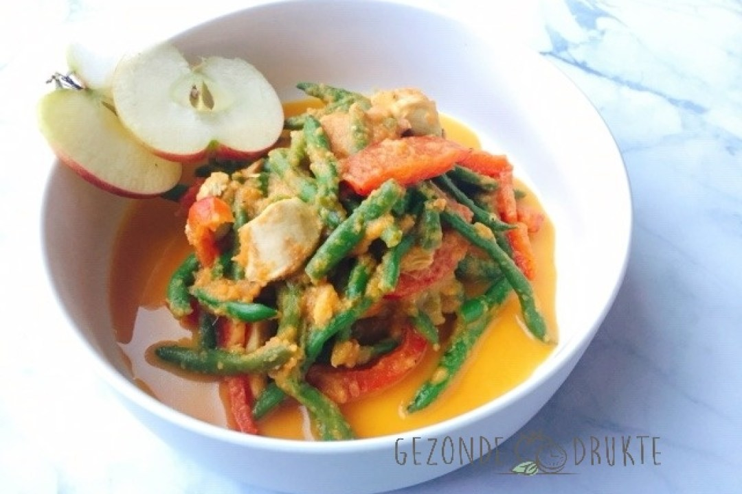 boontjes in currymadras bereiding gezond Gezonde Drukte