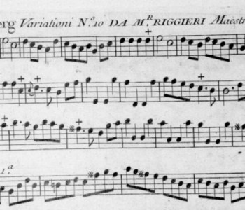 Antoine Riggieri - La Fustemberg - Variazioni No. 10