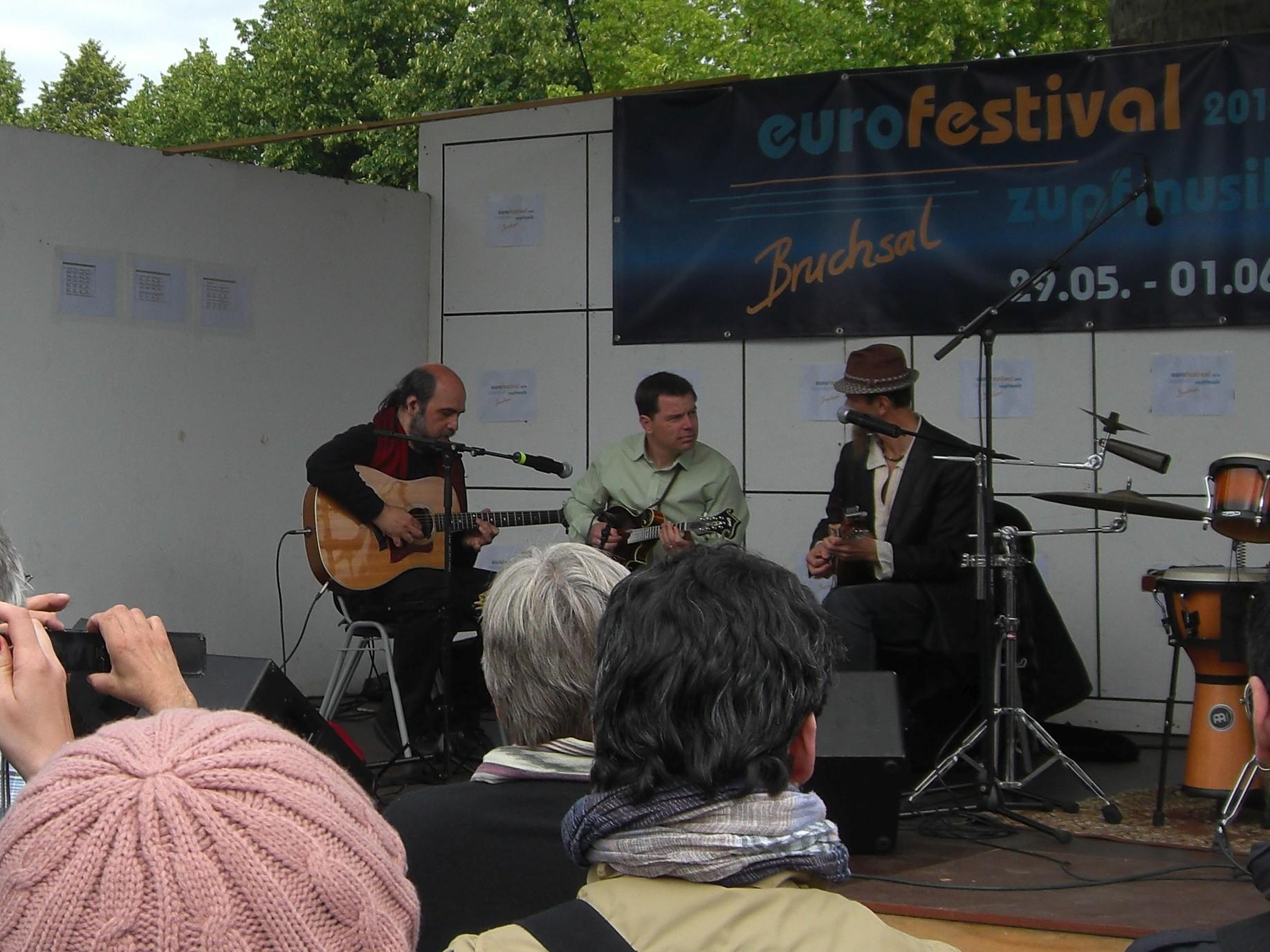 Claudio Bellato, Brian Oberlin und Carlo Aonzo