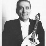 Giuseppe Anedda mit Embergher Mandoline