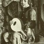 Cosimo Tura: The Virgin enthroned. ca. 1480