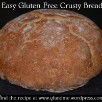 easy crusty bread – sshhh, it's gluten free