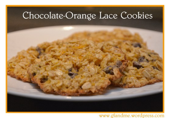 chocolate orange cookies gluten free and flourless