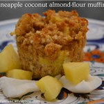 gluten free pineapple coconut muffins
