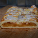 gluten free Danish pastry with apple