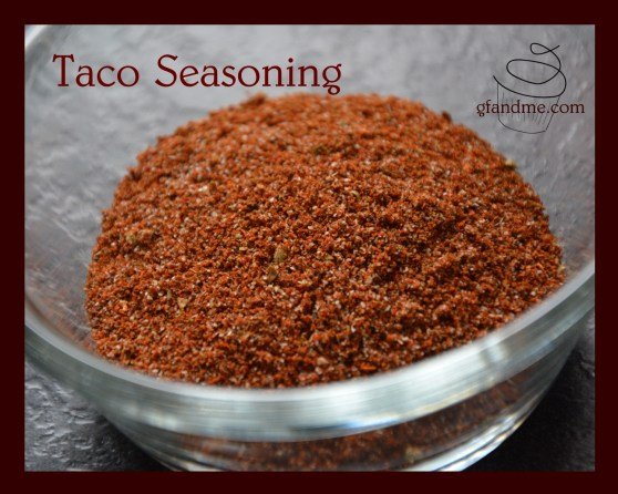gfandme Taco Seasoning