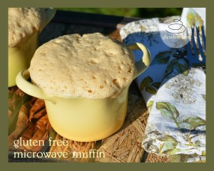 gf df microwave muffin recipe. gfandme.com